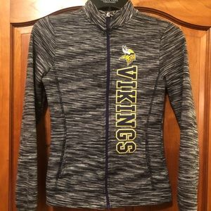 Minnesota Vikings Athletic Zip Up - Small 3/5